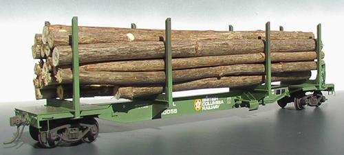 Pge Bcr Log Cars